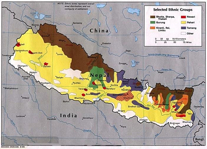 Mapa-de-los-Grupos-etnicos-de-Nepal-5745